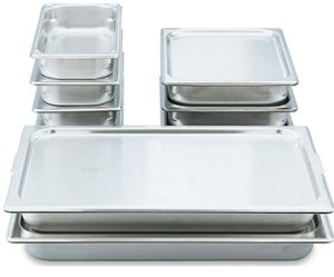 Vollrath Super Pan 20 Gauge Steam Table Pans and Lids