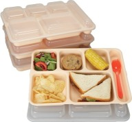 Cook's Plastic 6-Compartment Tray