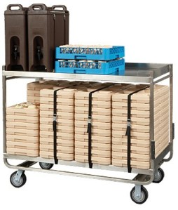 Cook's Brand TDC1914SS Stainless Steel Tray Delivery Cart