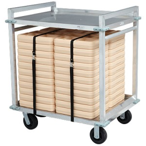 Cook's Aluminum 40-Tray Delivery Cart