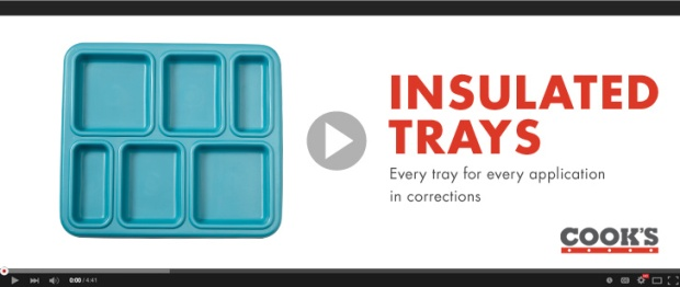 insulated trays for corrections